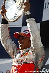 Hamilton survives F1 carnage to stand victorious !!