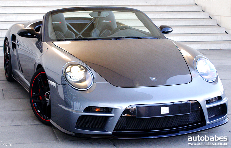 Porsche 9ff Speed9 !