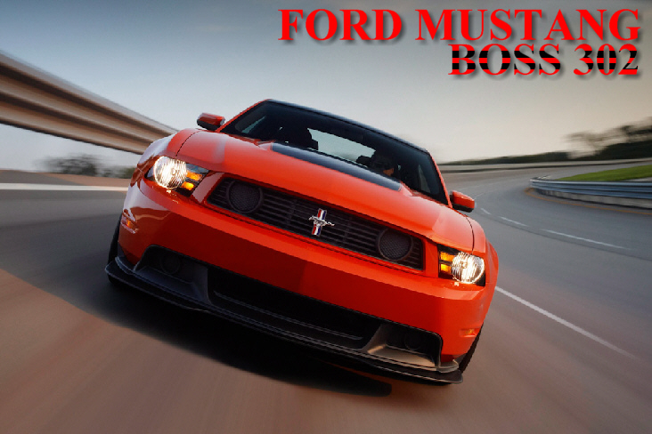 Ford Mustang Boss 302 !