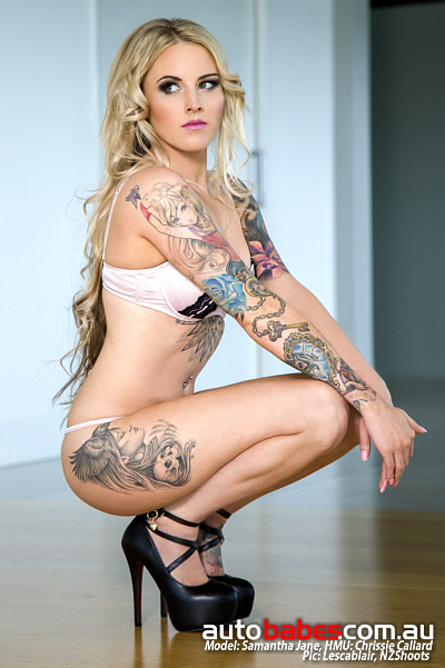 See more of Samantha in Edition 58 @ autobabes.com.au