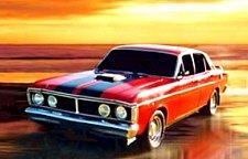 East Coast Legend – Ford Falcon GTHO-351 !
