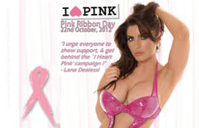 Edition 36 Cover Girl Lana Dealessi supports Pink Ribbon Day and breast cancer awareness !