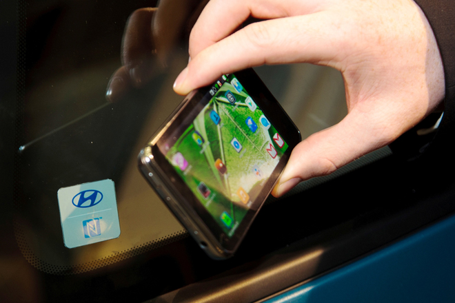 HyundaiSmartPhonelockKey
