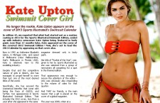 Kate Upton; Swimsuit Cover Girl