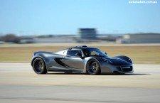 Hennessey Venom GT Sets New Guinness WORLD RECORD