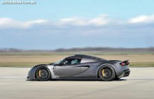 Hennessey® Venom GT® Sets New Top Speed Record