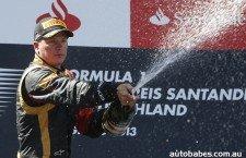 Interstellar Overdrive for Kimi Räikkönen at the German F1 Grand Prix