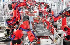Is the Tesla Motors Elegant Robotic Factory the Car Plant of the Future ?