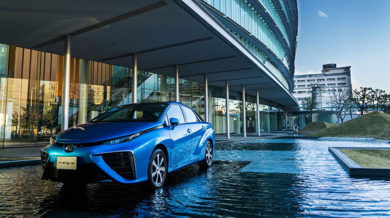 Toyota announce their Hydrogen only car, The Mirai, will be available in December.