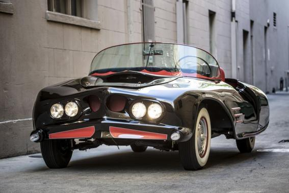 The 1963 Batmobile is shown in this photo released by Heritage Auctions, HA.com