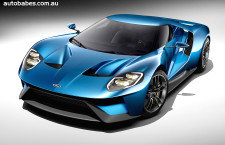 Ford unveils the 2015 Ford GT
