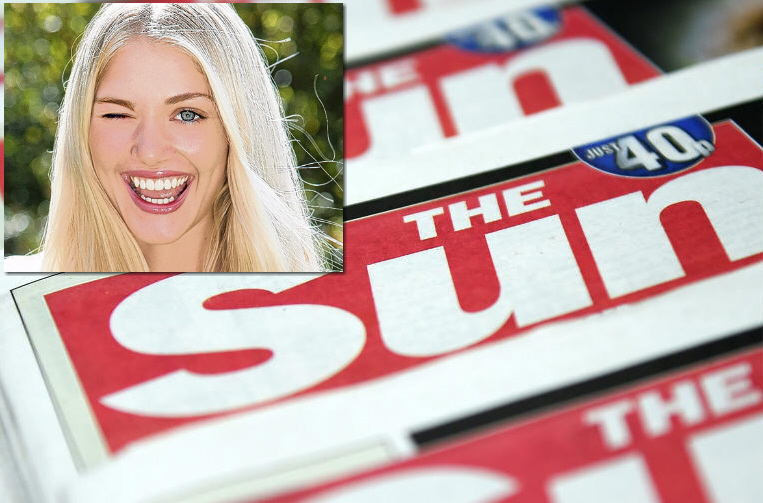 Topless Page 3 Girls Return To The Uks Sun Newspaper -8268