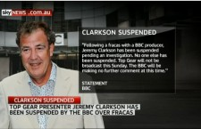 Did Jeremy Clarkson just get Sacked from Top Gear !?