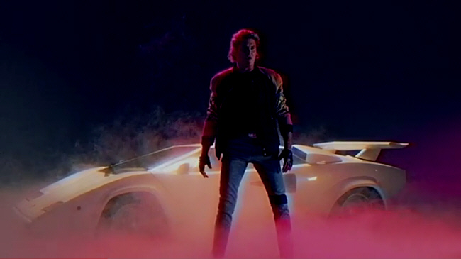 David Hasselhoff Time Warps to '80's Kick Ass in Kung Fury!