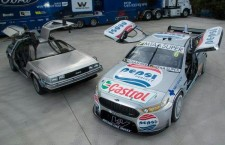 The Pepsi MAX Crew V8 Supercars Team go Back To the Future !