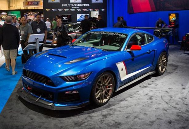 ford mustang named hottest car sema 2015 i magazine. Black Bedroom Furniture Sets. Home Design Ideas