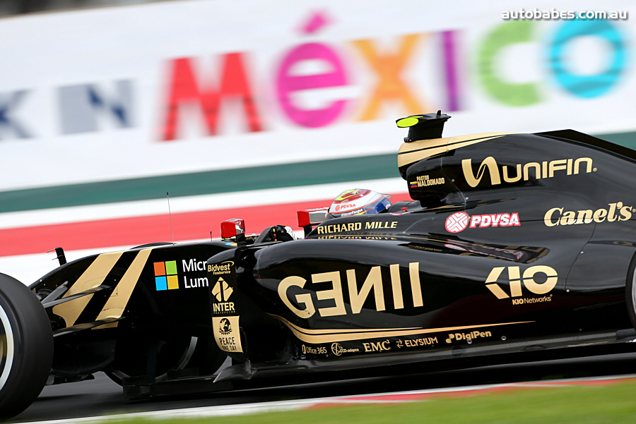 Close To You – Team Lotus F1 @ 2015 Mexico Grand Prix