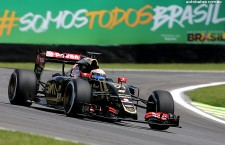 Team Lotus @ 2015 Brazil Formula 1 Grand Prix