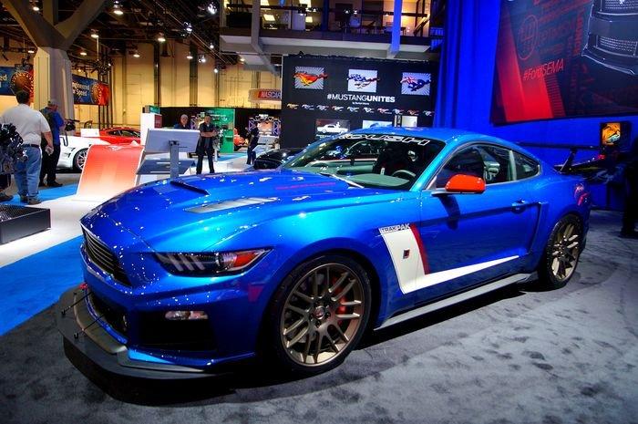 2015 Ford Mustang GT @ SEMA