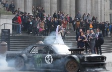 Matt LeBlanc and Top Gear Crash a Wedding in London – Spectacularly!