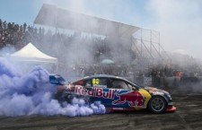 Jamie Whincup fined $3,000 for doing a Burnout at the Melbourne F1GP