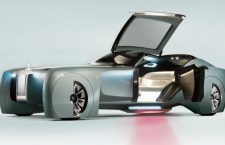 Rolls Royce Dramatic Self Chauffeured View of the Future with the 103EX!