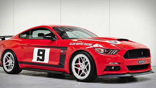 Mustang Motorsports unveils the Allan Moffat Signature Mustang!
