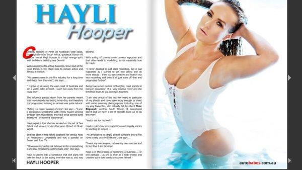 Sneak Peek; Hayli Hooper appears in Edition 69 – The Sexy Island Girl Edition!