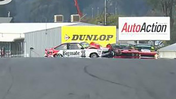 Massive Smash at Winton for the Touring Car Masters
