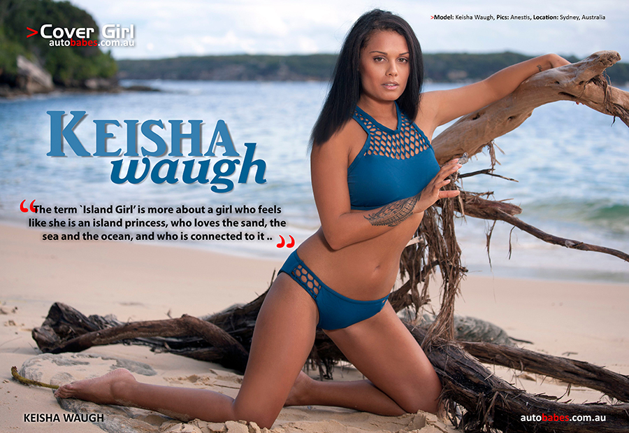 Pic Of The Day; Keisha Waugh Appears On Cover Of Edition