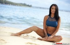 Pic of the Day; Keisha Waugh appears On Cover of Edition 69 – the Sexy Island Girl Edition
