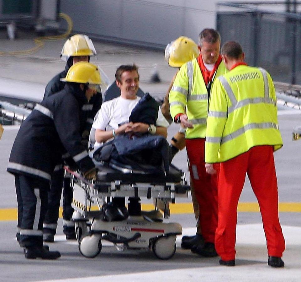 Richard Hammond Unfall