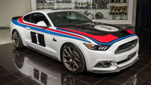 Tickford Unveils Tribute to '77 Bathurst Mustang