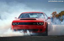 2018 Dodge Demon Heading Down Under