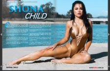 Sneak Peek; Shona Child features in Edition 70 – The Swimsuit Glamour Edition