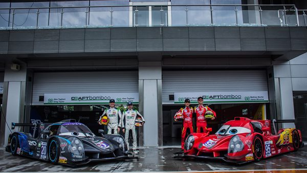 Lightning McQueen Inspired Craft-Bamboo LMP3 Takes Victory in Zhejiang