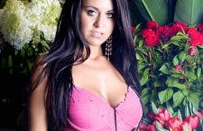 Flashback: Amy Causes Distraction in Florist for Renee Rofe Lingerie Campaign