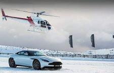 A Shot of Aston Martin On Ice!