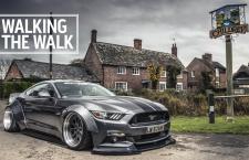 TopGear: LibertyWalk's Wide Body Mustang in the Uk