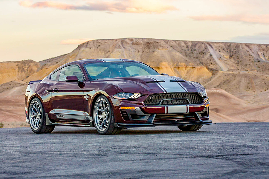 Shelby American Releases The 2018 2019 Shelby Super Snake