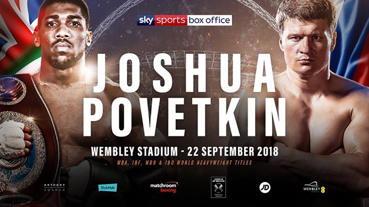 Anthony Joshua Vs Alexander Povetkin Is Aj The Next