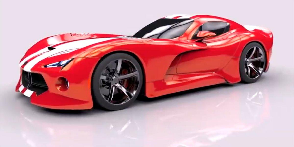 2020 Viper Concept and 2022 Viper ACR Concept : autobabes